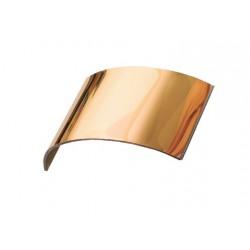 Visor panorámico vidrio trilaminado oro 220 X 100 mm