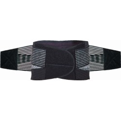 Cinturón antilumbago elástico sin tirantes. Tallas: S, P, M, G y XL