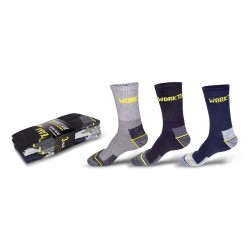 Calcetines pack 3 pares. WorkTeam WFA020