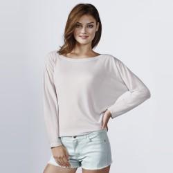 Camiseta con escote abierto DAFNE