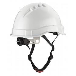 Casco VOLT protección para la industria electricamente aislante, cierre ruleta, arnes textil 8 puntos y barbiquejo