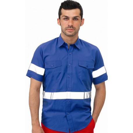Camisa Manga Corta Tergal Reflex