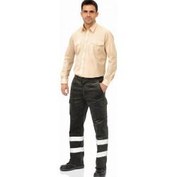 Pantalón De Pana Multibolsillos Reflex