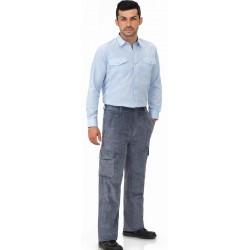 Pantalon De Pana Multibolsillos con goma Vesin PANA