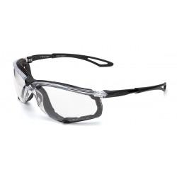 Gafa XENON. Gafa de ocular incoloro, patillas flexibles, foam interior en EVA (desmontable).