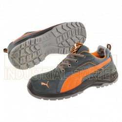 Zapatilla OMNI KNIT ORANGE LOW ISO EN20345 S1P SRC