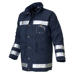 Parka Four Seasons Triple Uso Alta Visibilidad Antifrio