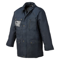 Parka Normal Impermeable Con Capucha Interna Industrial Starter 04650A