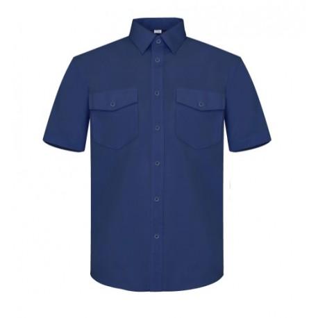 Camisa Manga Corta Dos Bolsillos Tergal 5000