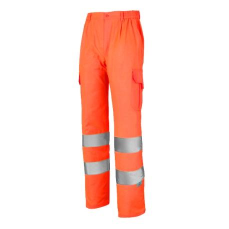 Pantalón Multibolsillos Alta Visibilidad