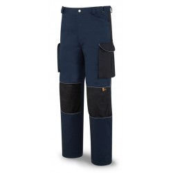 Pantalon Tergal 245 g. Refuerzos Cordura Marca PL 588-PAN