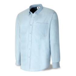 Camisa tejido Oxford 100% algodon Manga Larga MARCA 388 COML