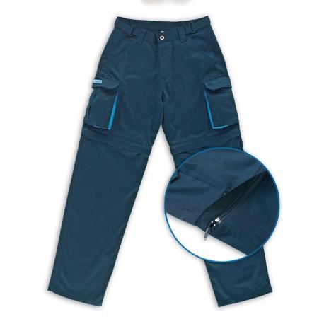 Pantalón mujer desmontable algodón 245 g.