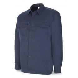 Camisa ignifuga y antiestatica Algodon 200 gr. con costuras de Kevlar. Marca PL 988-CAIA/N