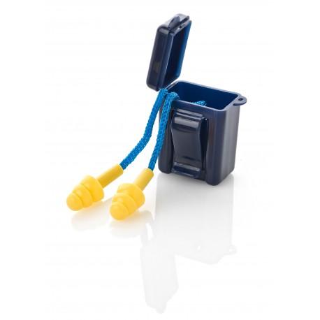 "Mod. ""FIT BASIC"". Tapón auditivo reutilizable con cordón."