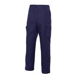 Pantalón Multibolsillos Con Refuerzo De Tejido
