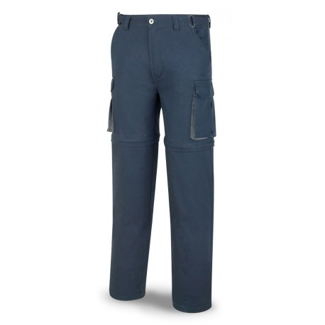Pantalón DESMONTABLE 200 g (época estival).Covertible en bermuda