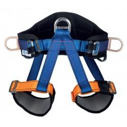 Cinturón MIRA 20F con 2 enganches laterales de sujeción y 1 enganche abdominal de suspensión