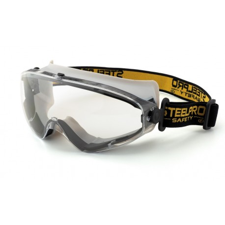 "Mod. ""X9"". Gafa Integral panorámica 180° ocular claro antiempañante para riesgos mecánicos."