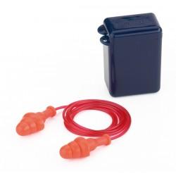Mod. FIT BASIC. Tapon auditivo reutilizable con cordon. Marca PL 1988-TRCE