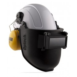 Pantalla de soldar tono 11 adaptable a casco. Marca PL 2188-PSC