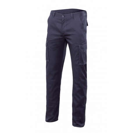 Pantalón stretch multibolsillos 290 gramos