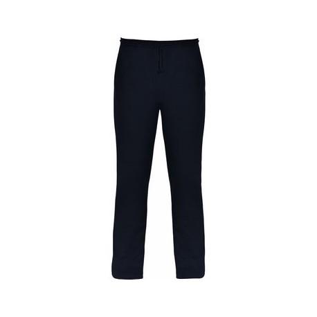 Pantalón largo de corte recto con dos bolsillos laterales. ASTUN