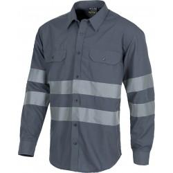 Camisa de manga larga con cierre de botones