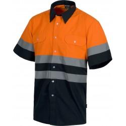 Camisa de manga corta Alta Visibilidad
