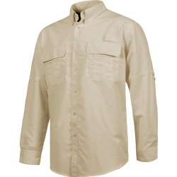 Camisa de manga larga tipo safari WorkTeam B8500