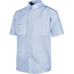 Camisa de manga corta tipo safari
