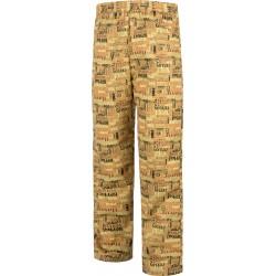Pantalón unisex con cintura elástica y dos bolsillos