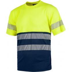 Camiseta de manga corta y cuello redondo WorkTeam C6040