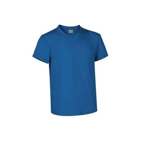 Camiseta de corte clásico con cuello de pico