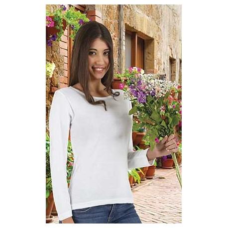 Camiseta de mujer con manga larga