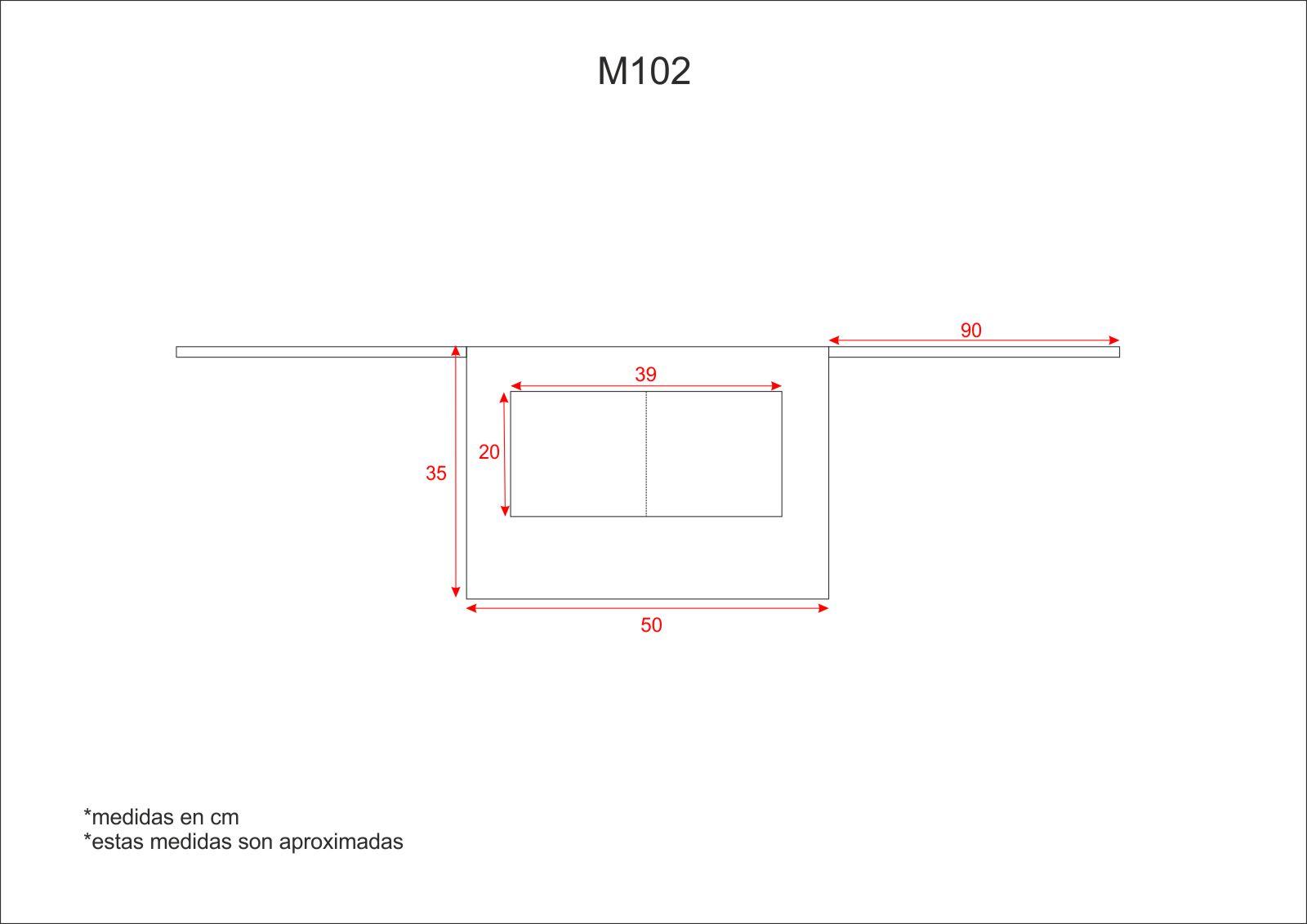 Medidas M102