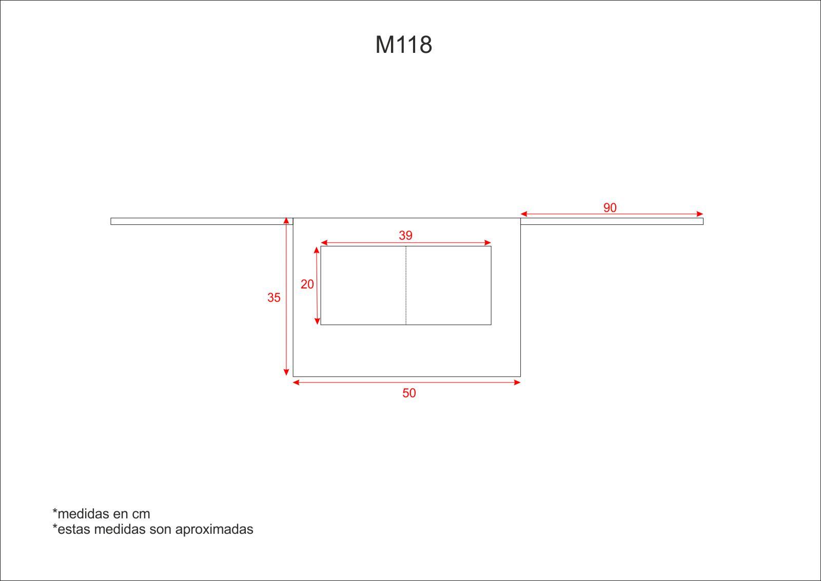 Medidas M118